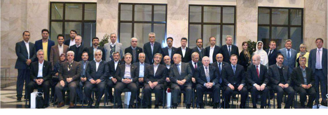 The president of the university of Tehran attended the joint meeting of the Iranian and Russian top universities