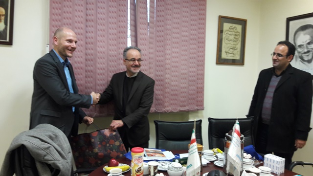 The meeting of DAAD director with the President of the College of Science